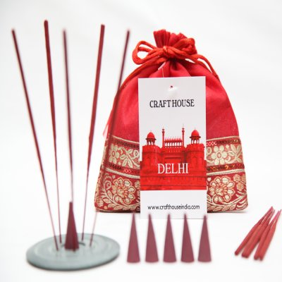 Delhi (Incense and Cone Set)