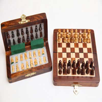 Wooden Magnet Chess