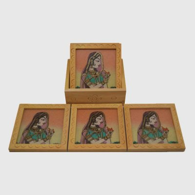 Gemstone Coaster set of 6