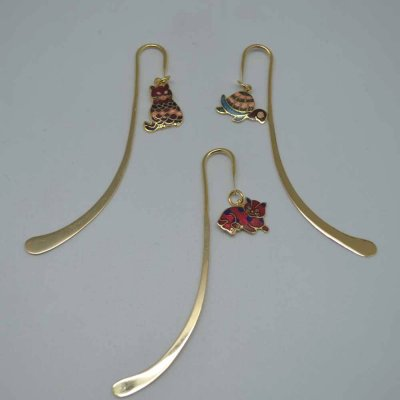 Enamel Book Mark set of 3