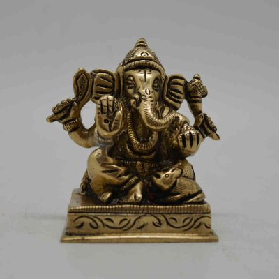 Brass - Ganesh Sitting