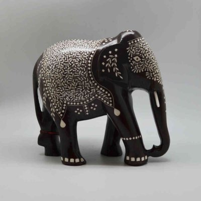 Shisham wood - Inlay Elephant