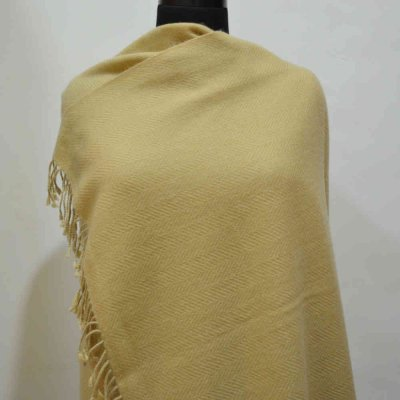 Pure Pashmina Wrap in Herring Bone Weave