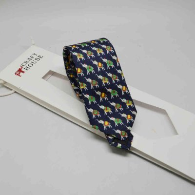 Necktie Pure Silk Printed
