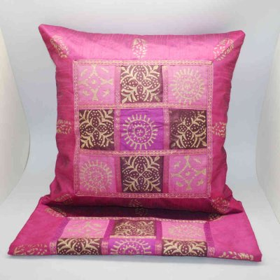 Silk Cushion Cover Set of 2