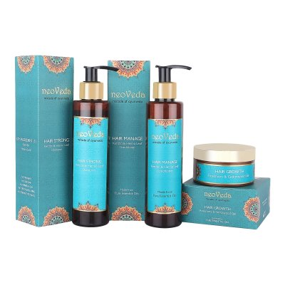 Hair Care Set with Hair Growth Gel