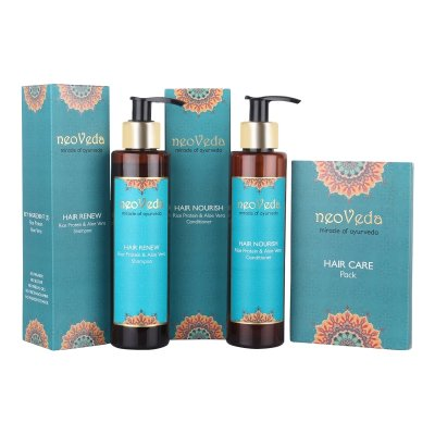 Hair Care Set with Hair Care Pack