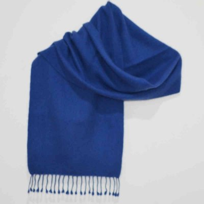 100% Pure Pashmina Muffler in Herringbone Weave Design