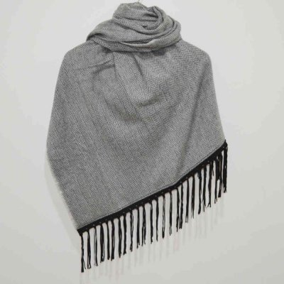 100% Cashmere Wool Wrap / Stole with Tassle