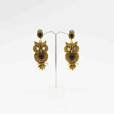 Earring With Owl Design