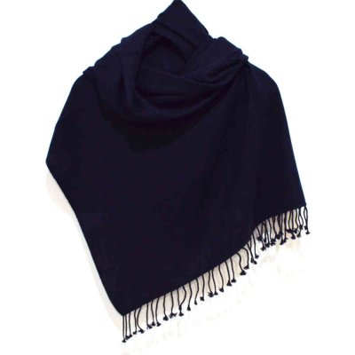 Pure Pashmina Wrap / Stole in Herring Bone Weave