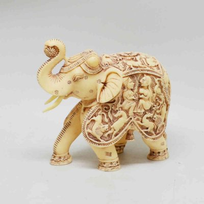 Poly Resin Elephant (Queen-King)