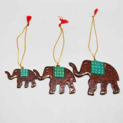 Elephant Hanging Set of 3