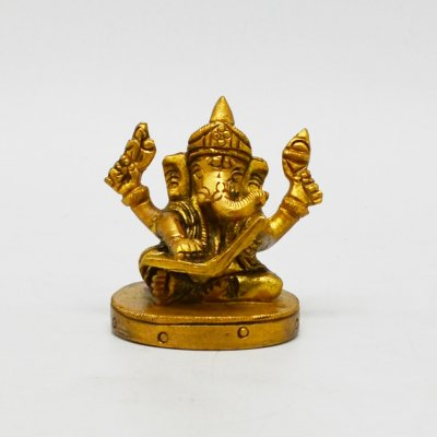 Ganesha Reading A book