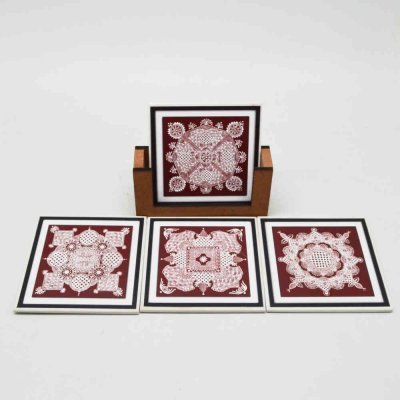 Fiber Coaster Set Of 4