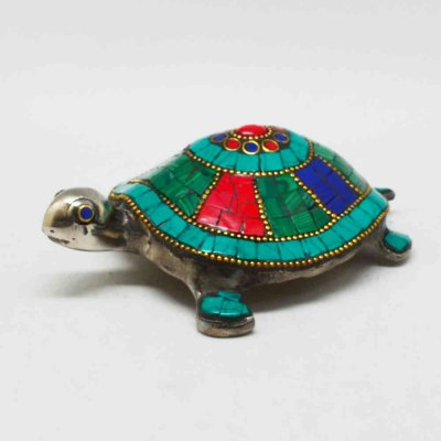 Tortoise With Stone Work