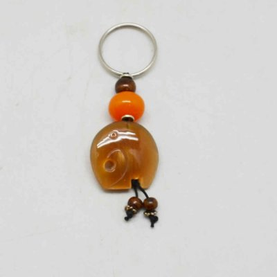 Fancy Stone Keychain