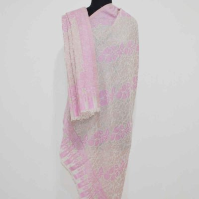 Cashmere Shawl with Kani Cutwork