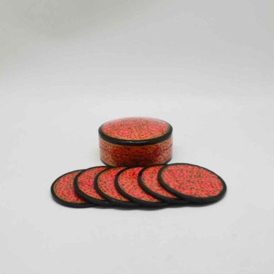 Box and Coaster Set of 6