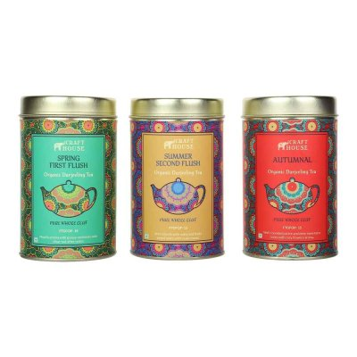 Darjeeling Tea Collection Set of 3
