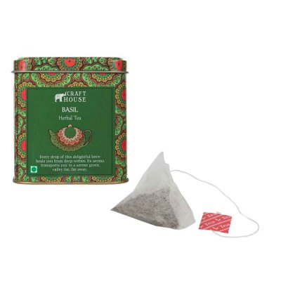 Darjeeling - Basil Herbal Tea