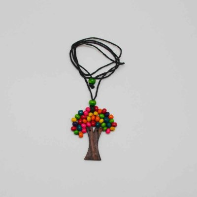 Wood Tree of Life - Necklace