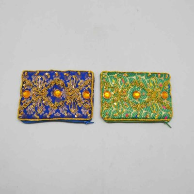 Cloth Embroidered Purse set of 2
