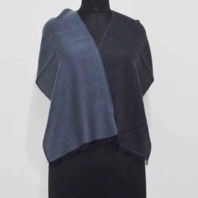 Silk Pashmina Reversible Yarn Dyed Woven Muffler