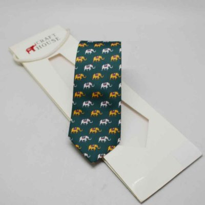Faux Silk Printed Neck Tie