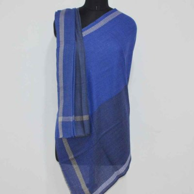 Wool Herringbone Wrap / Stole