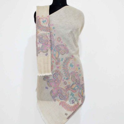 Pure Pashmina Cutting Palla Wrap/ Stole