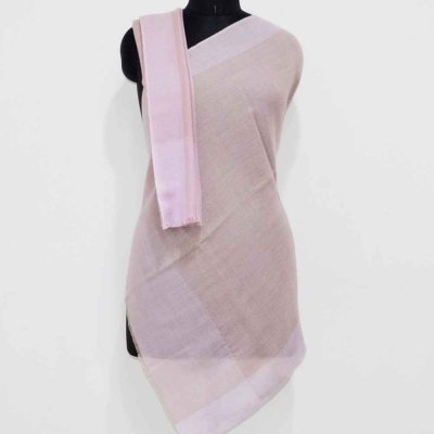 Pure Wool Check Wrap / Stole