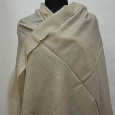 100% Pure Shahmina Birds Eye Weave Wrap / Stole
